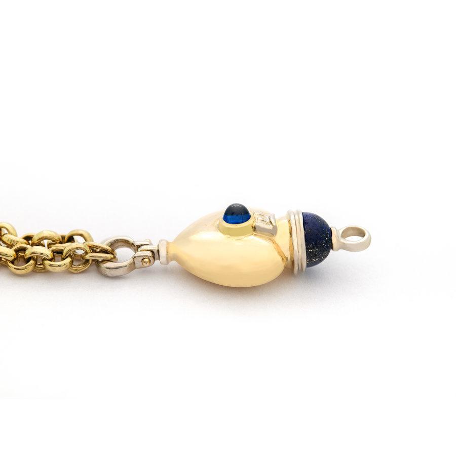 Occasion 18 karaat geel goud armband 21.2 gram