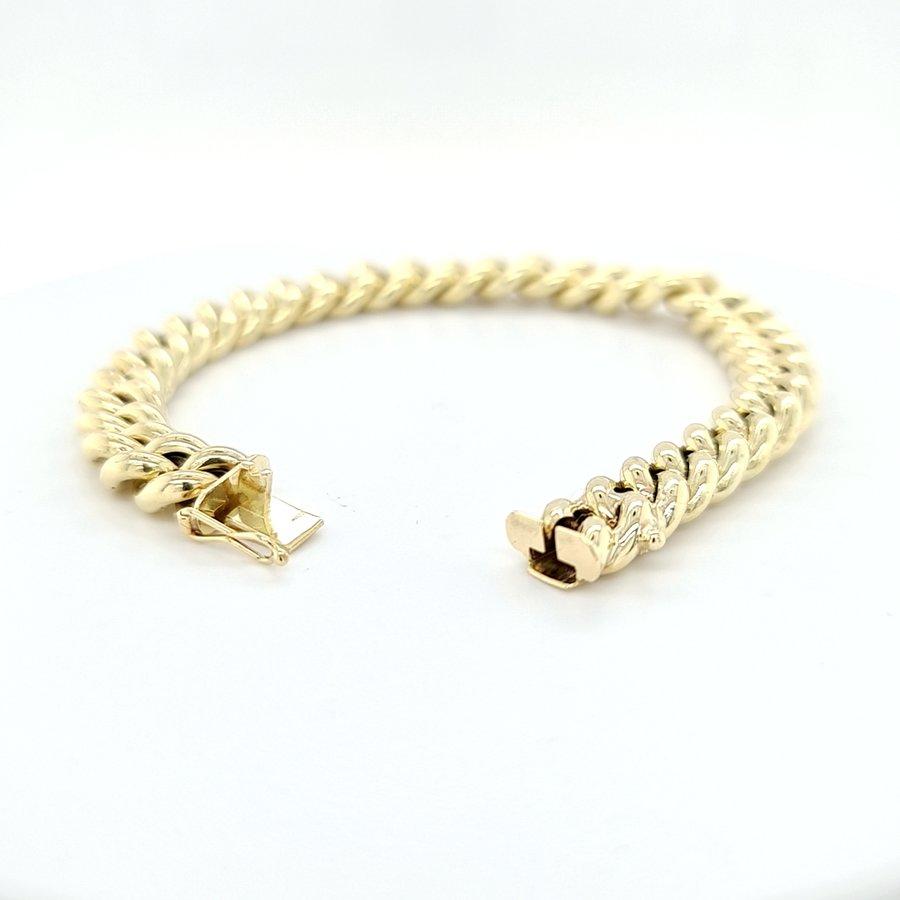 Occasion 14 karaat gourmet armband 15.1 gram
