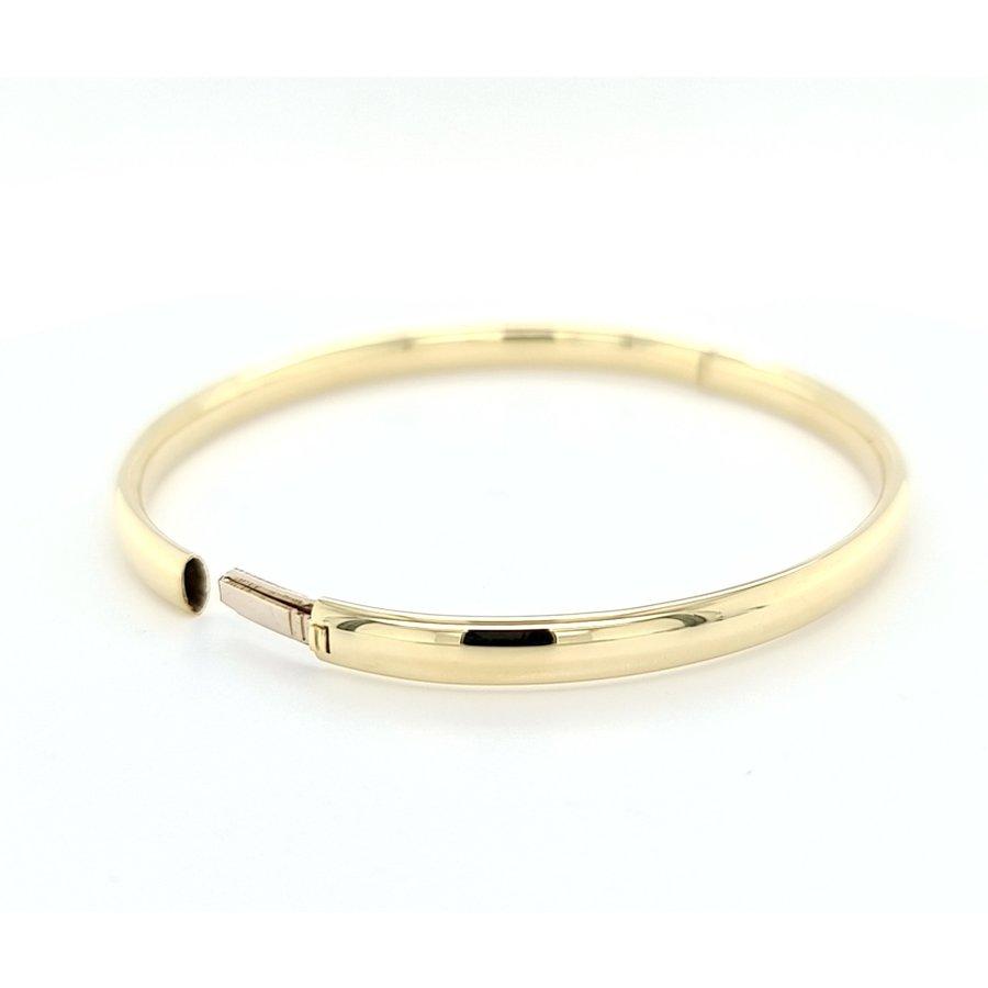 Occasion 14 karaat gladde armband 9.8 gram