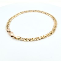 Occasion 14 karaat geel gouden armband 9.9 gram