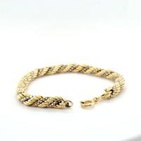 Occasion 18 karaat bicolor armband 16.9 gram