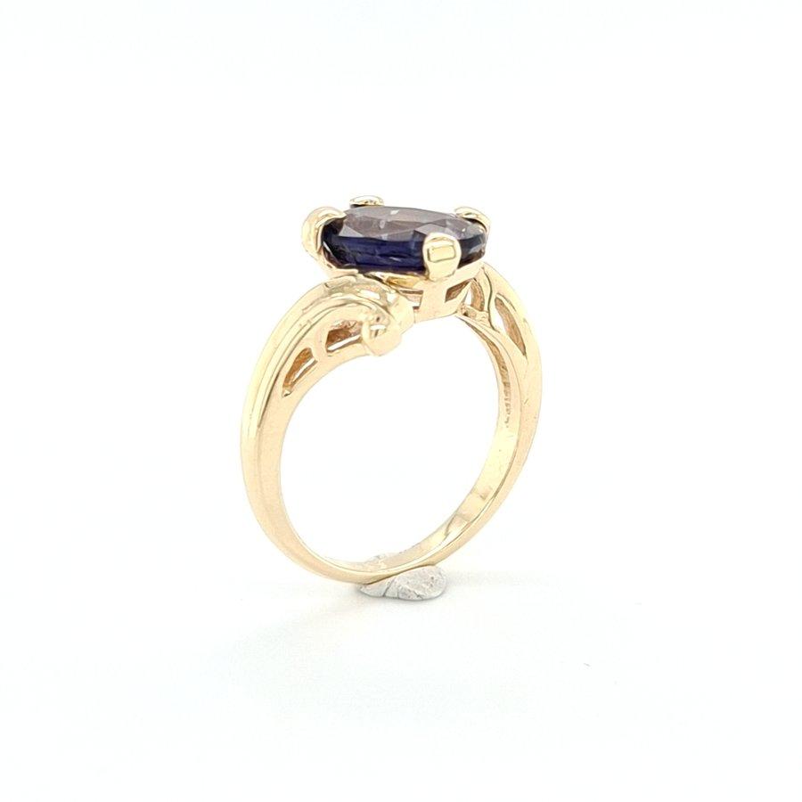 Occasion 14 karaat gouden ring