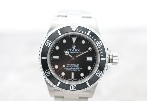 Occasion Rolex Sea-Dweller heren horloge