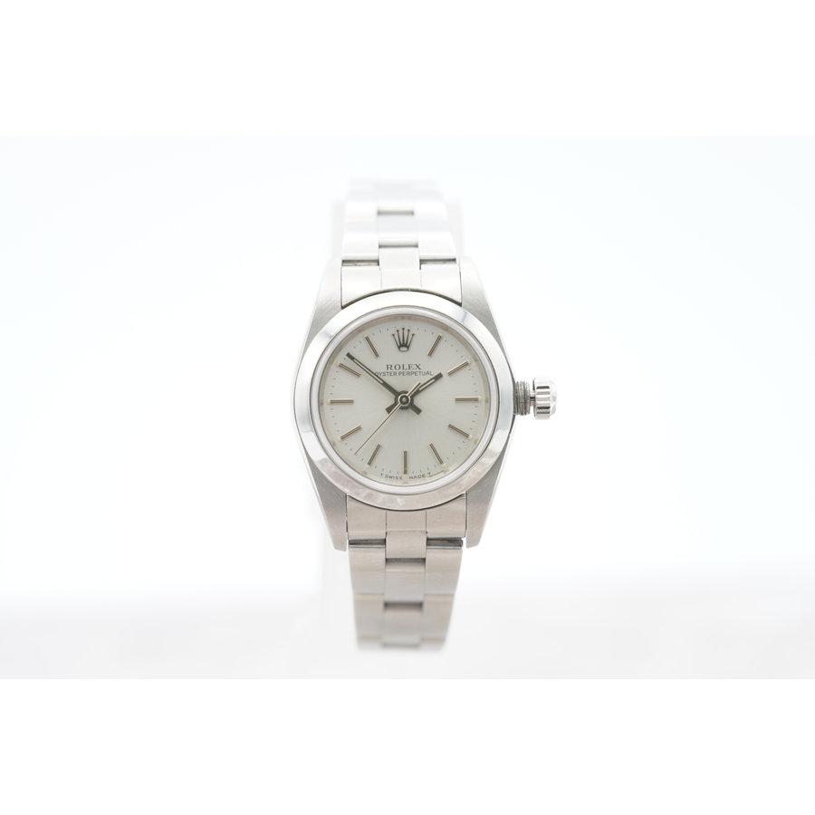 Occasion Rolex Oyster Prepetual dames horloge