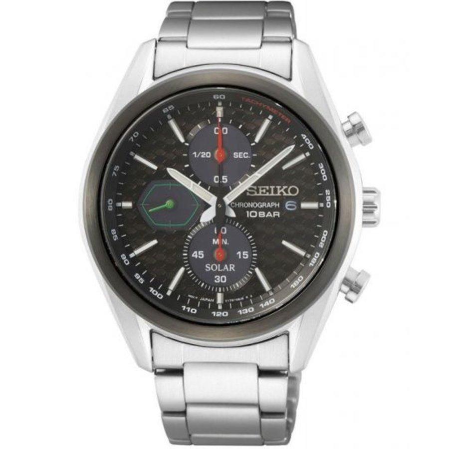 Seiko SSC803P1 solar chronograaf