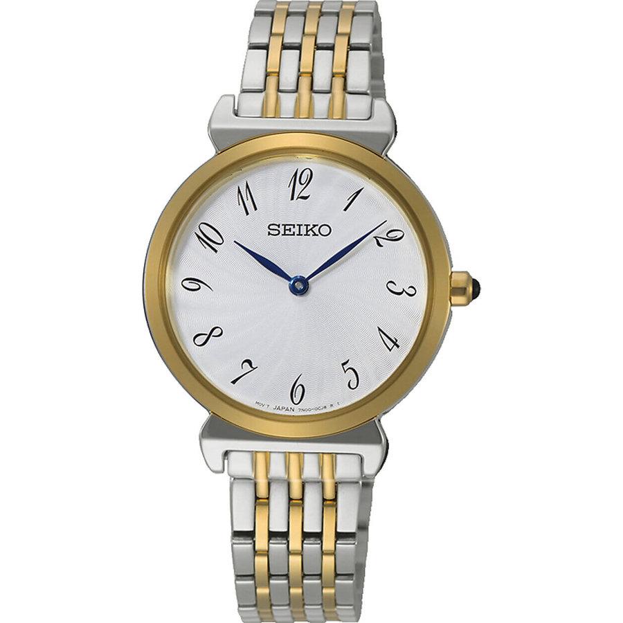 Seiko SFQ800P1 bicolor dames horloge