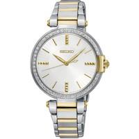 Seiko SRZ516P1 bicolor dames horloge