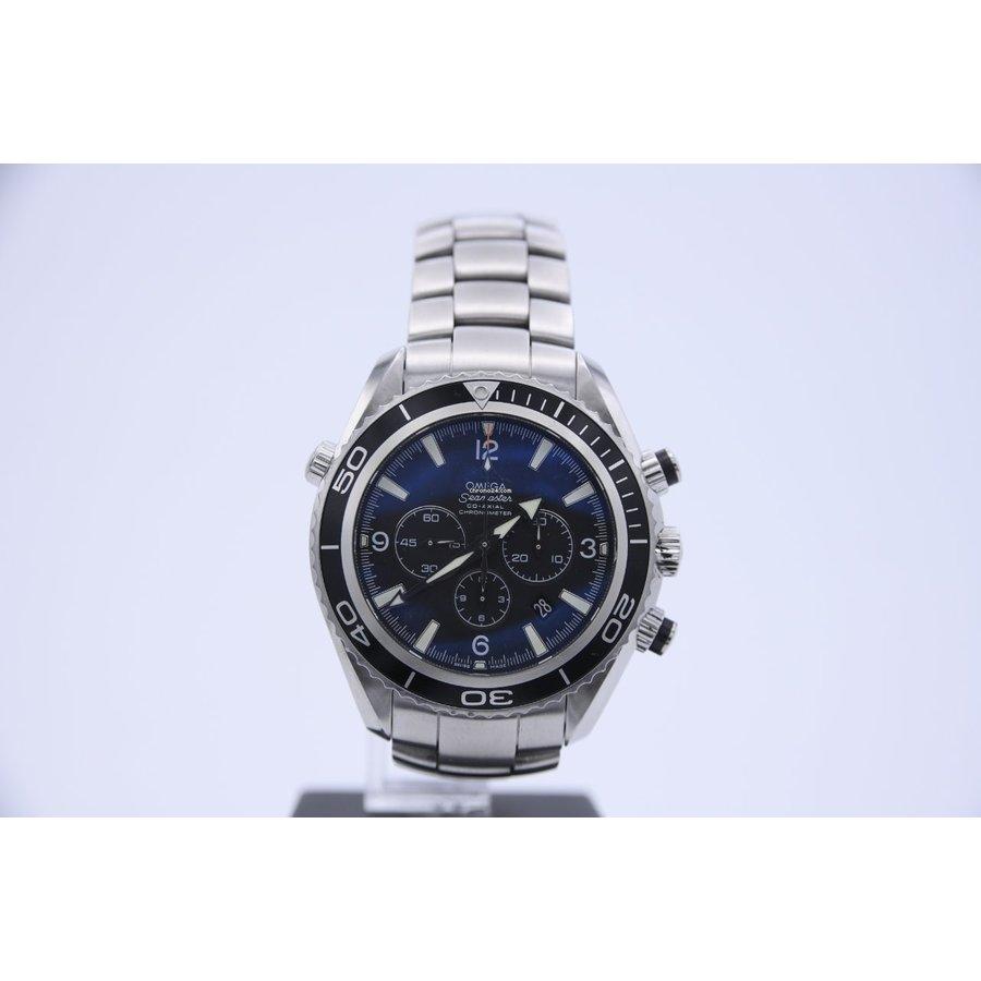 Occasion Omega Seamaster Planet Ocean Chronograph heren horloge