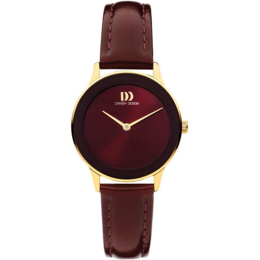 Danish Design IV27Q1288 Nostalgia 1988 - Burgundy Gold  dames horloge