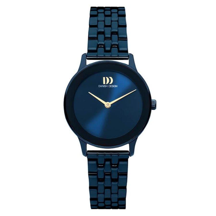 DANISH DESIGN  IV98Q1288 NOSTALGI 1988 MIDNIGHT BLUE LINK dames horloge