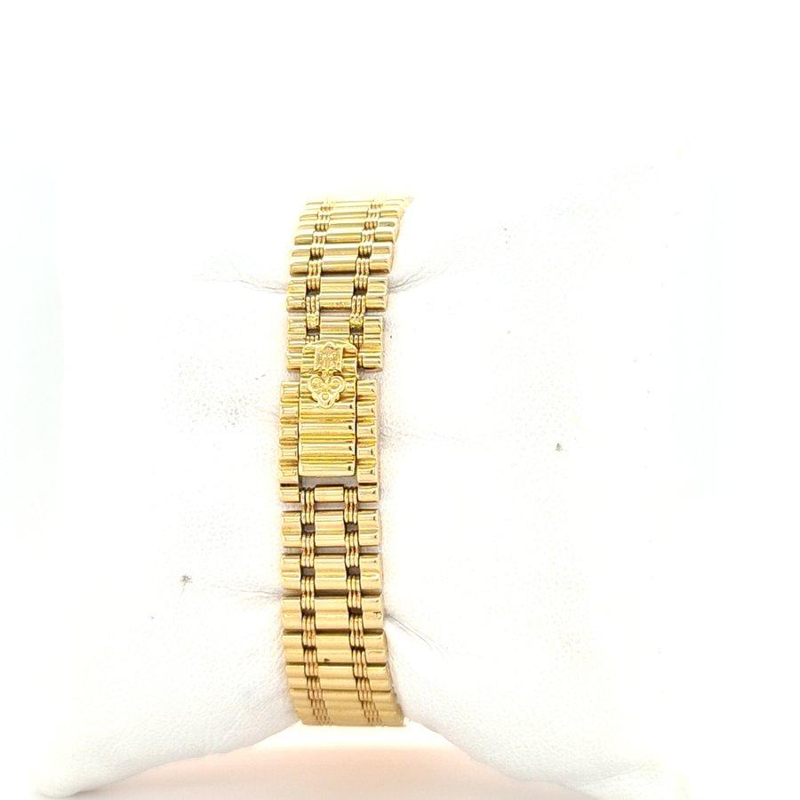 Romvlvs 18 krt. Gold Diamant Lünette