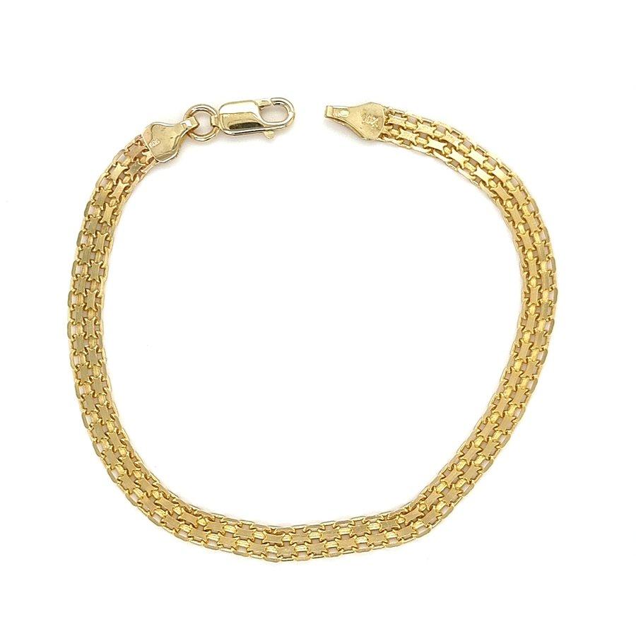 14 krt. geelgouden armband