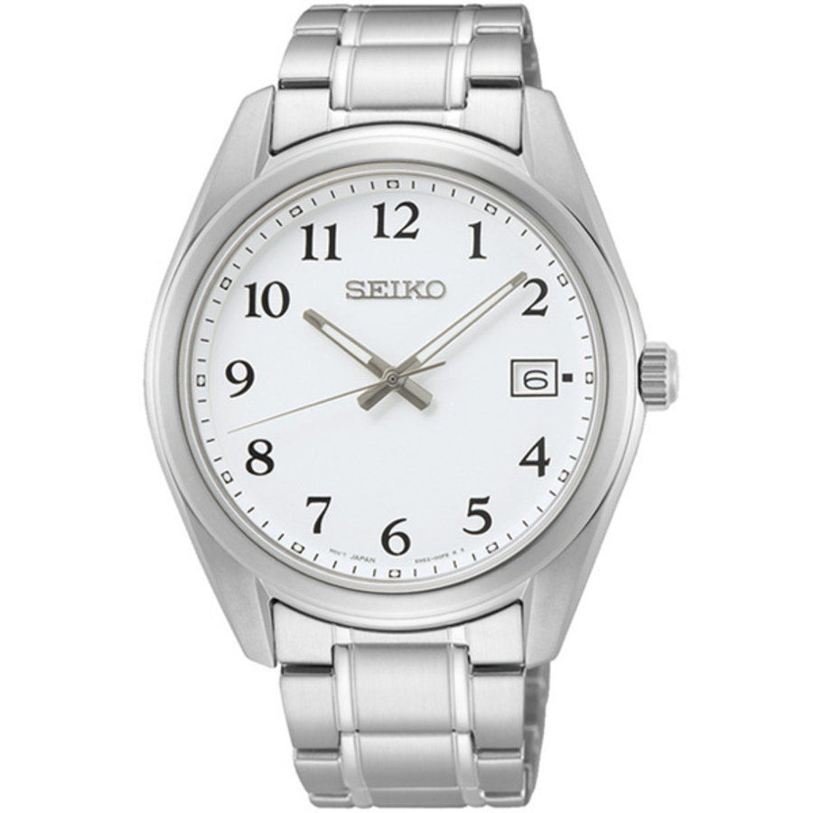 Seiko stalen herenhorloge SUR459P1