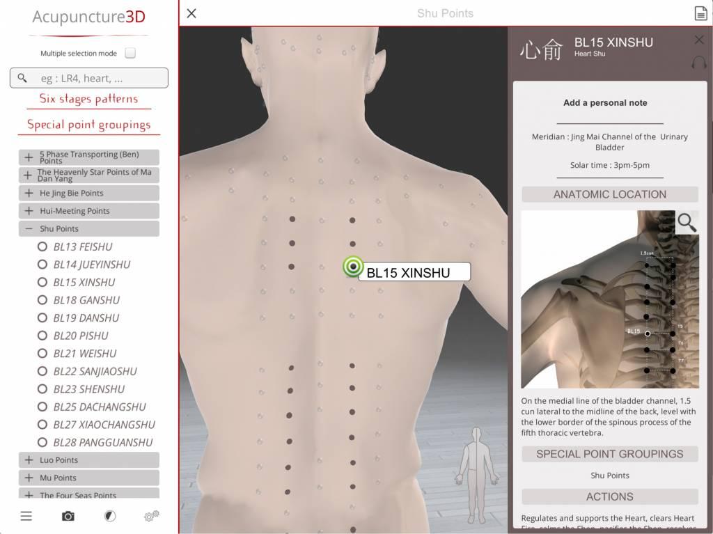 Chan Ly Software Acupuncture 3D - le logiciel pour apprendre et pratiquer l'acupuncture