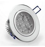 LED inbouwspot 5W 3000K warm wit incl. trafo inbouwmaat Ø100mm