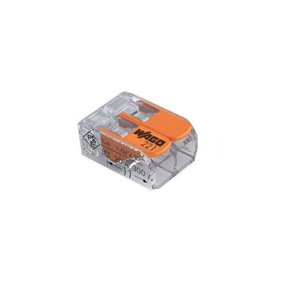 WAGO lasklem  0.14-4 mm 2 polig