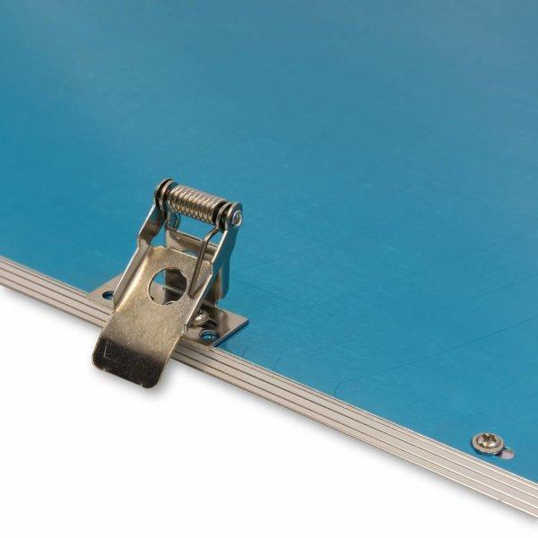 LED paneel veerklemmen montageklemmen - voor verlaagd plafond - 4 klemmen