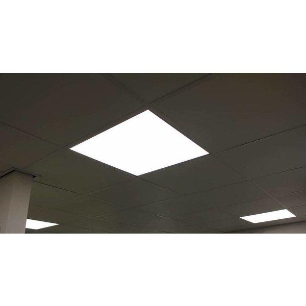 LED paneel 60x60cm - 3000K 830 - 40W - 4000lm - Flikkervrij - 5 jaar garantie