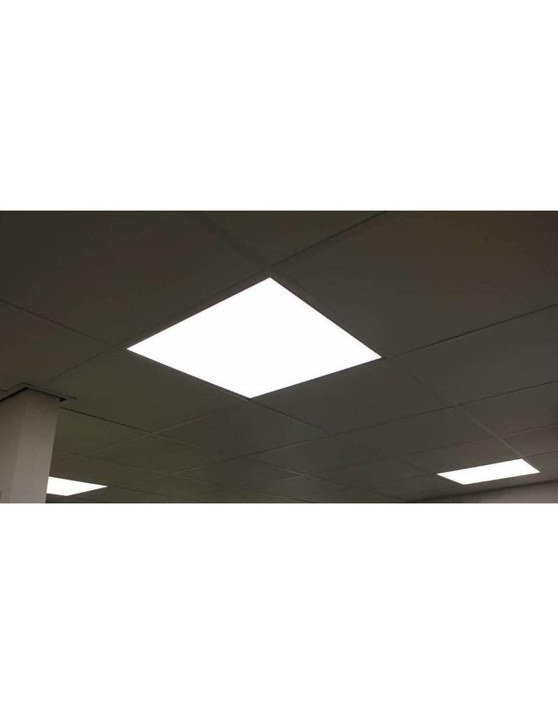 LED paneel 60x60 40W 6000K 4000lm incl. driver en 1.5m stekker. 5 jaar garantie. Flikkervrij