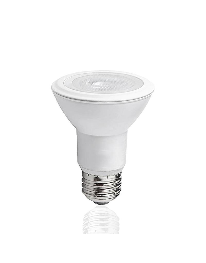 LED lamp - E27 PAR20 - 8W vervangt 60W - Warm wit licht 3000K