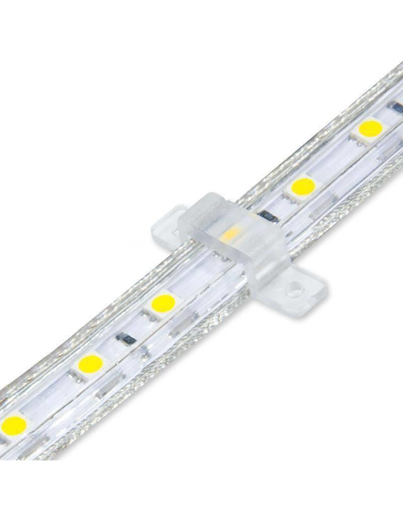 ACTIE! LED Lichtslang plat- 50 meter - 3000K warm witlicht  - plug and play