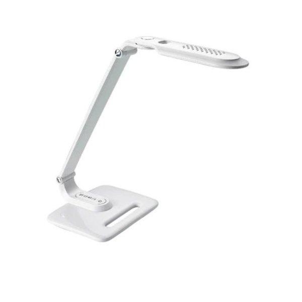 OP=OP LED Bureaulamp Wit 8W helder wit licht met Touch bediening Dimbaar