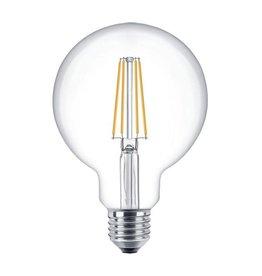LED filament E27 lamp XL GLOBE 4W of 6W Dimbaar 2700K