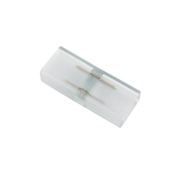 LED lichtslang twee pins connector aansluiting met plastic omhulsel