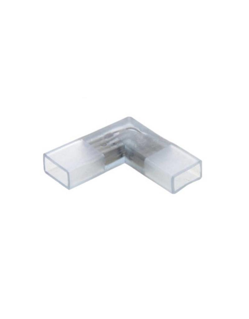 LED lichtslang twee pins hoekverbinding L-connector