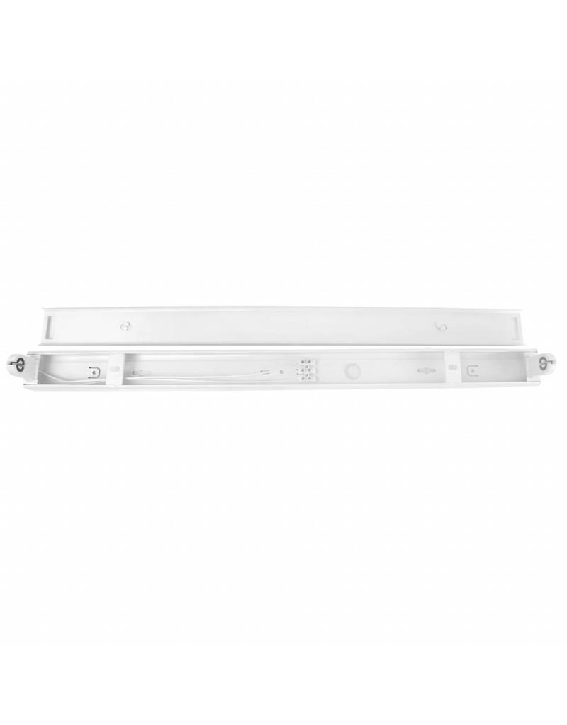 Aluminium armatuur 600 mm voor 1 LED TL T8 buis