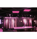 LED paneel 120x30cm RGB + 3000K, 4000K en 6000K 48W met afstandsbediening