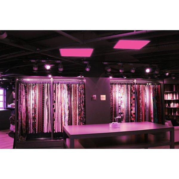 LED paneel 120x30cm RGB + 3000K, 4000K en 6000K 48W Draadloosbedienbaar