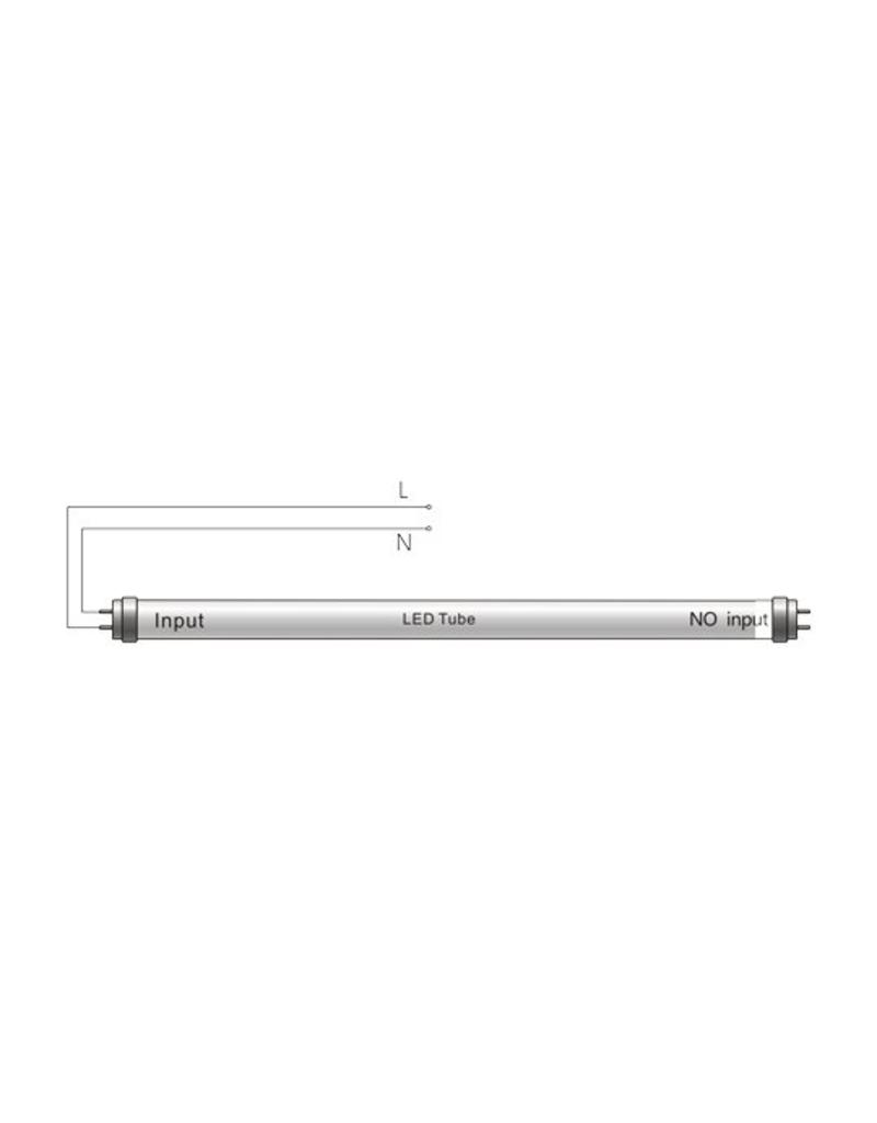 LED TL buis 120cm 6000K (865) 18W - High Lumen 120lm p/w - Hoge lichtopbrengst