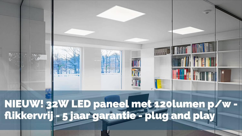 LED-paneel-kantoor-32w