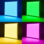 WiFI LED paneel 60x60cm 36W - RGB+CCT - Bedienen met de App