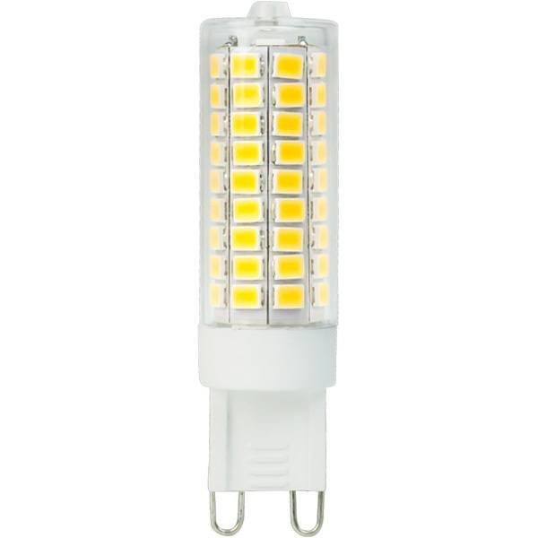 LED G9 - 8W vervangt 75W - 2700K warm wit licht - 	19x64 mm