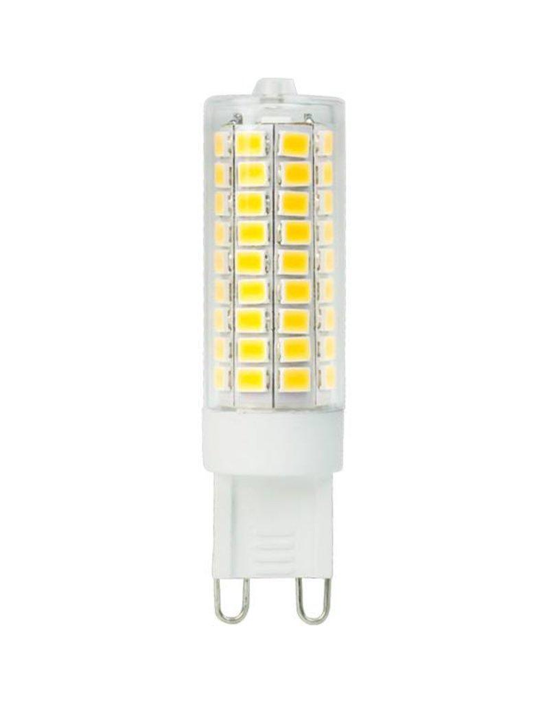 LED G9 - 8W vervangt 75W - 2700K warm wit licht - 19x64 mm