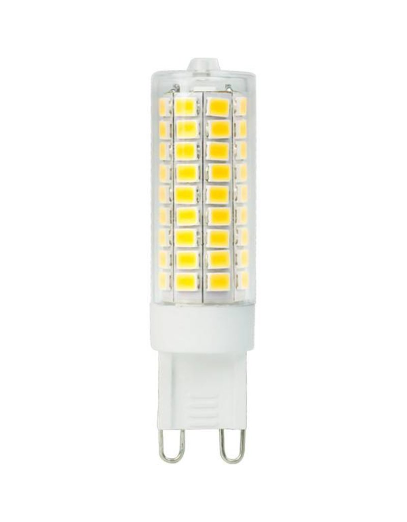 LED G9 - 8W vervangt 75W - 6000K daglicht wit - 19x64 mm