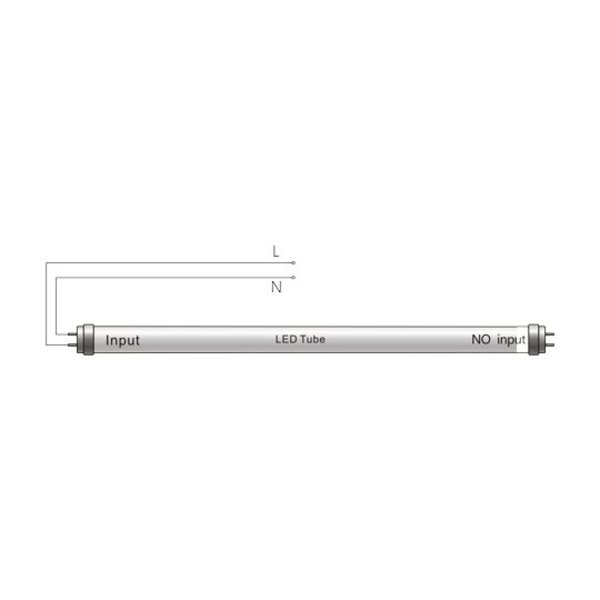 LED TL buis 60cm 3000K (830) 10W - High Lumen 120lm p/w - Hoge lichtopbrengst
