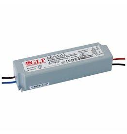 LED voedingsadapter 12V 60W 5A geschikt voor 12V LED-verlichting