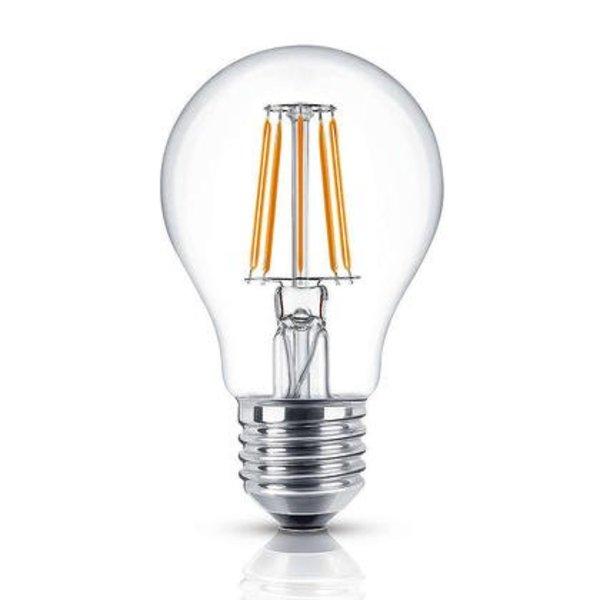 LED filament lamp - dimbaar - E27 A60 - 4W vervangt 50W - 2700K warm wit licht