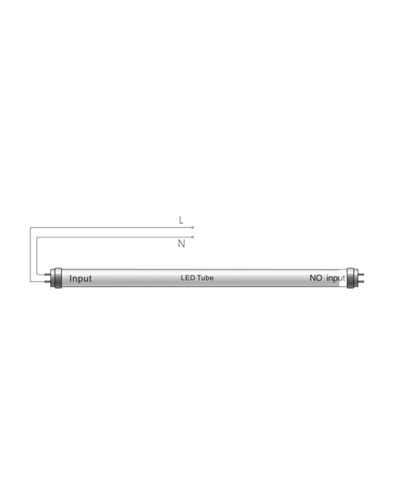 LED TL buis 120cm 4000K (840) 18W - Pro High Lumen 140lm p/w - Hoogste lichtopbrengst