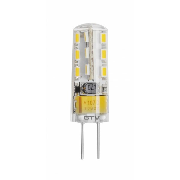 LED G4 - 2W vervangt 20W - 3000K warm wit licht - 37x10mm