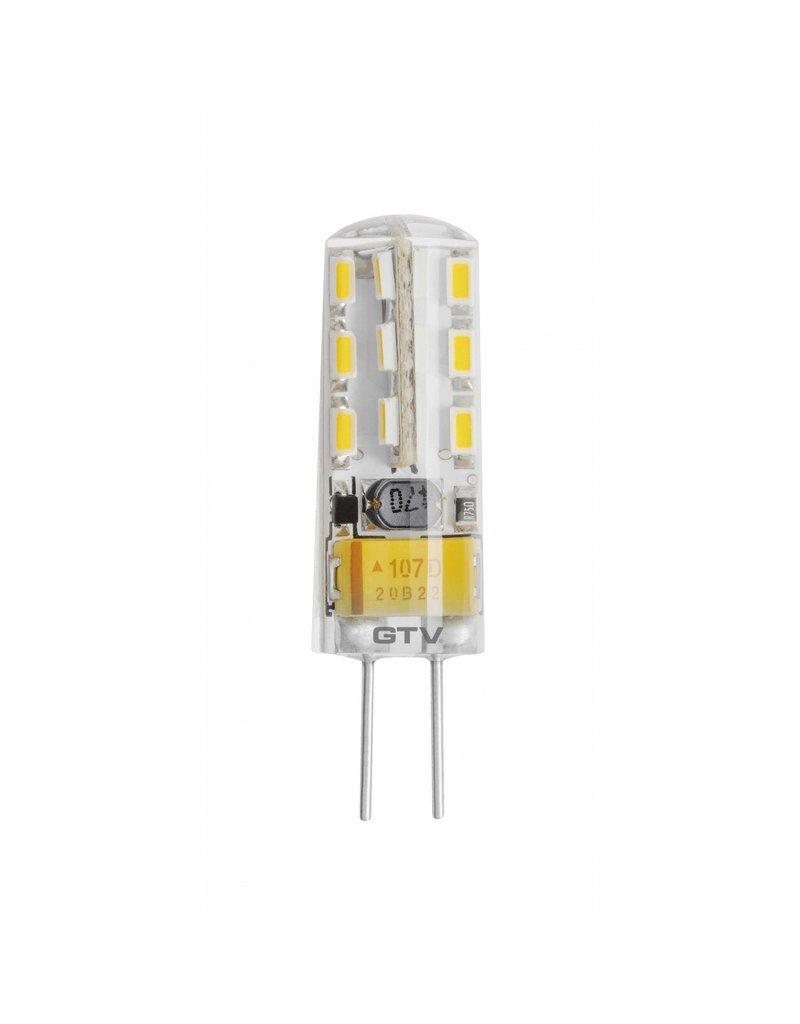 LED G4 - 2W vervangt 20W - 3000K warm wit licht - 10x37mm