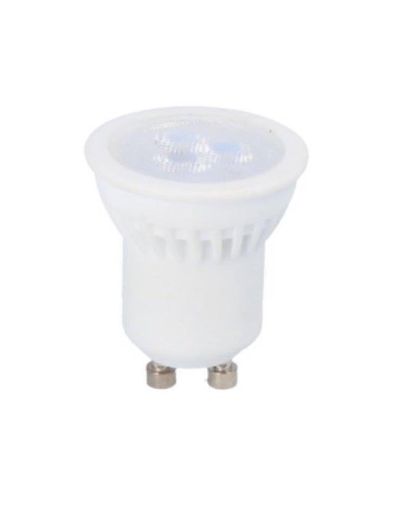 LED Spot - GU10/GU11 LED - Ø35mm - 3W vervangt 20W - 6500K daglicht wit - keramische behuizing