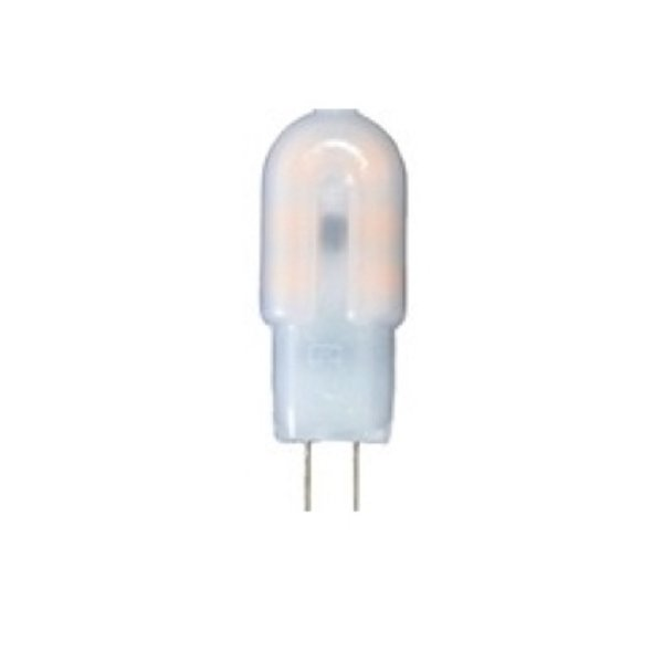 LED G4 - 2W vervangt 20W - 3000K warm wit licht - 12x38mm