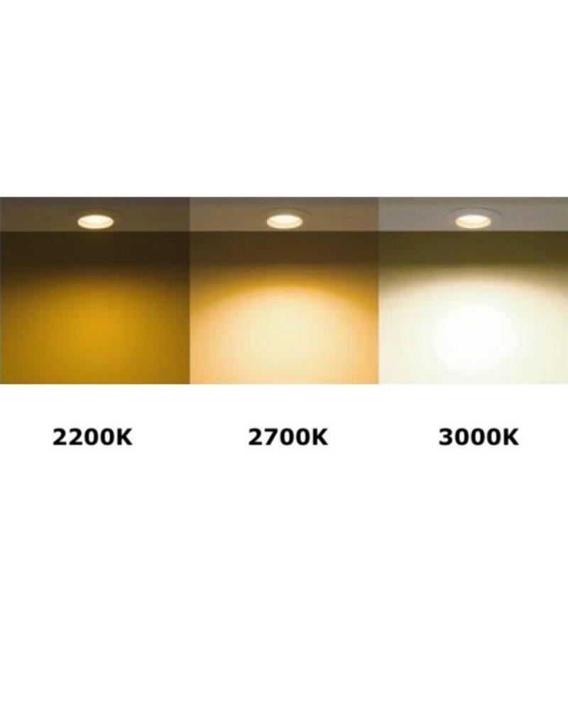 Dimbare LED spot - GU10 5,5W - 2700K warm wit licht