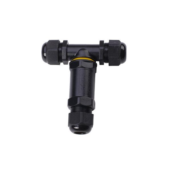 Waterdichte kabel verbinder T-splitsing 3 polig 0.5 - 1mm² IP68