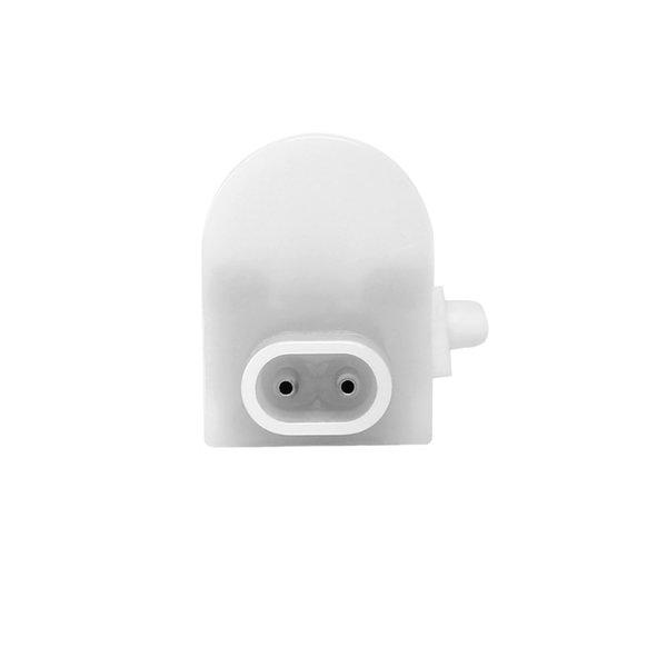 T5 LED armatuur 60cm - 8W vervangt 80W - 3000K warm wit licht (830) - compleet met 1.5m aansluitsnoer en aan- uitknop