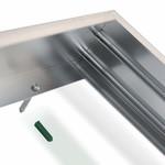 LED paneel opbouw aluminium - Zilver - 60x30 frame systeem - 5cm hoog incl. schroeven
